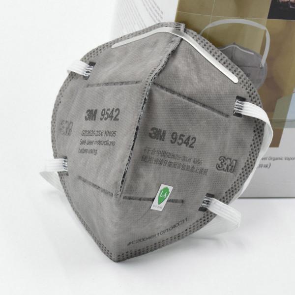 3M 9542 Maske Grau