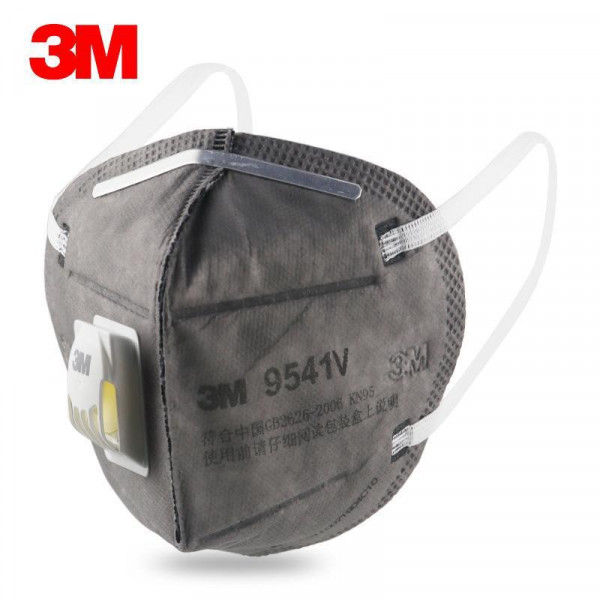 3M 9541V Maske Mit Ventil Grau